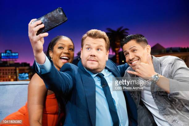 The Late Late Show with James Corden airing Monday September 24 with guests Tiffany Haddish Jay Hernandez FikShun and musical guests Tori Kelly and...