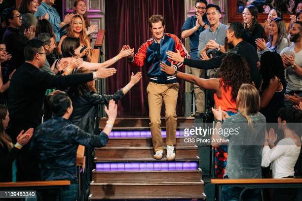The Late Late Show with James Corden airing Thursday April 18 with guests Lake Bell Andrew Garfield and musical guest Blackpink