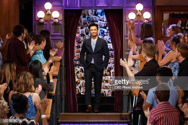 The Late Late Show with James Corden airing Thursday August 9 with guests Tig Notaro John Cho Bo Burnham and musical guest Flora Cash Pictured John...