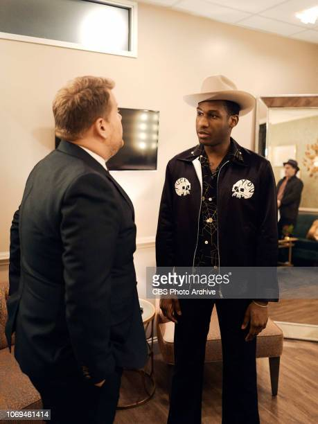 The Late Late Show with James Corden airing Thursday December 6 with guests Dolly Parton Jennifer Aniston and musical guest Leon Bridges