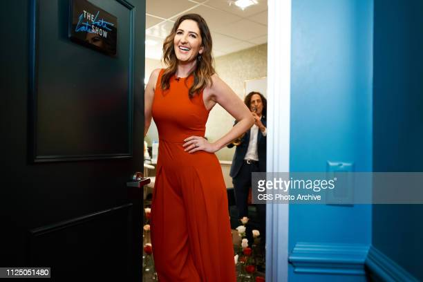 The Late Late Show with James Corden airing Thursday February 14 with guests D'Arcy Carden Ray Romano special appearance from Kenny G and music from...