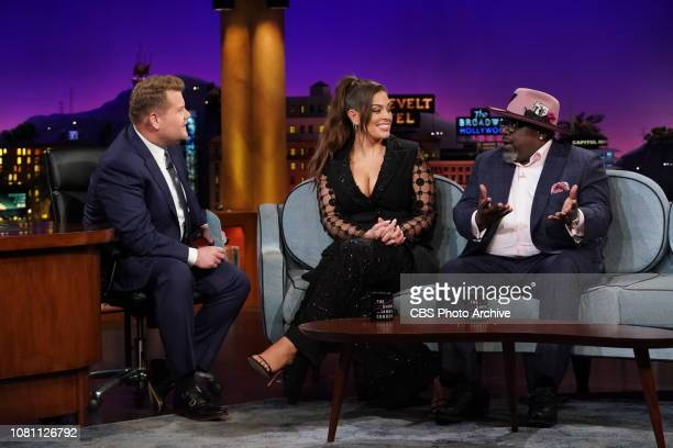 The Late Late Show with James Corden airing Thursday January 10th with guests Cedric the Entertainer Ashley Graham and Flatbush Zombies