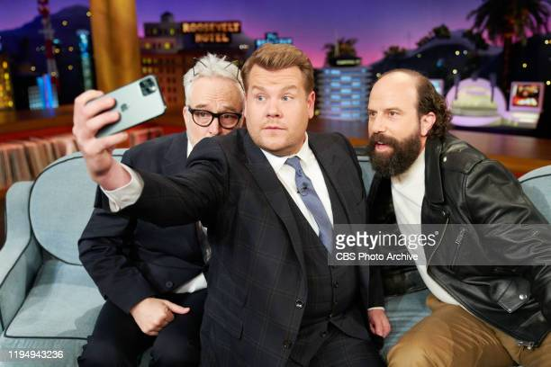 The Late Late Show with James Corden airing Thursday January 16 with guests Bradley Whitford and Brett Gelman