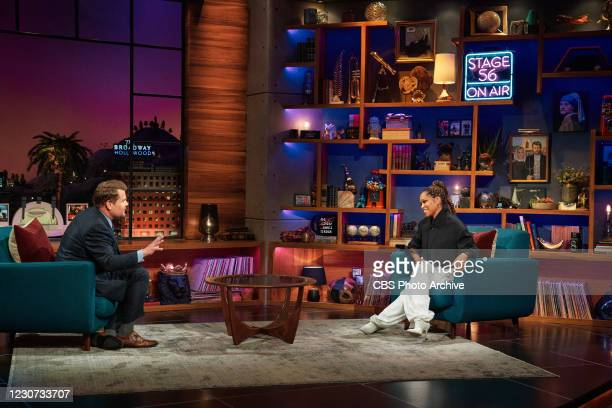 The Late Late Show with James Corden airing Thursday, January 21 with guests Regina King and Amanda Gorman.