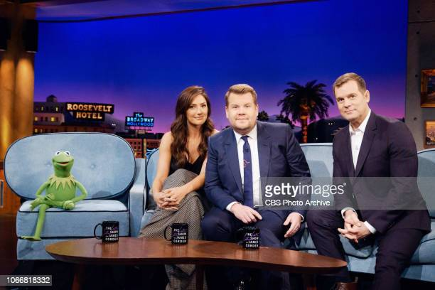 The Late Late Show with James Corden airing Thursday November 29 with guests Kermit the Frog Minka Kelly Peter Krause and musical guest Sampha