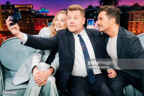The Late Late Show with James Corden airing Thursday, September 5 with guests Yvonne Strahovski, Orlando Bloom, and music from O-Town.