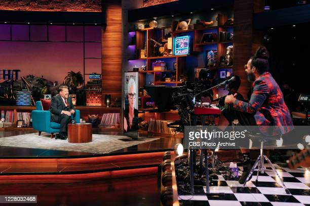 The Late Late Show with James Corden airing Tuesday August 11 with guests Jamie Lee Curtis JJ Redick and musical guest Alexander 23 Pictured with...