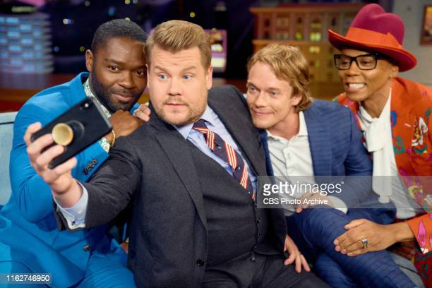 The Late Late Show with James Corden airing Tuesday, August 13 with guests David Oyelowo, Alfie Allen, and RuPaul.