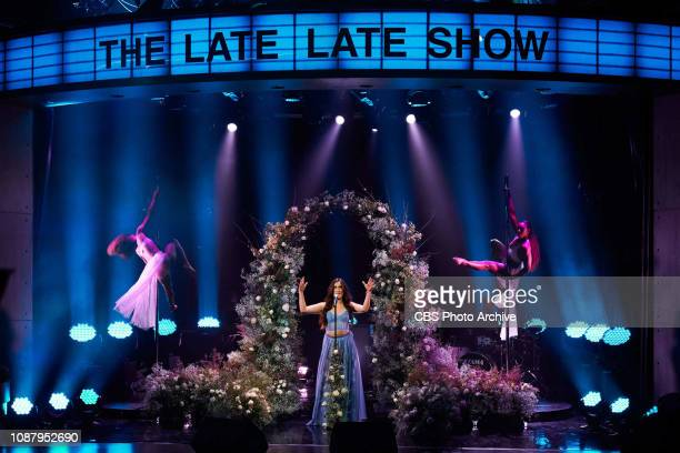 The Late Late Show with James Corden airing Tuesday January 22 with guests Stephen Curry Regina King Ron Funches and musical guest Lauren Jauregui