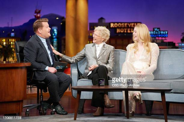 The Late Late Show with James Corden airing Tuesday March 10 with guests Annette Bening Elle Fanning and music from Niall Horan
