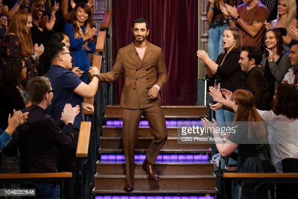 The Late Late Show with James Corden airing Tuesday, October 2 with guests Mary Elizabeth Winstead, Riz Ahmed, and musical guest Phosphorescent.