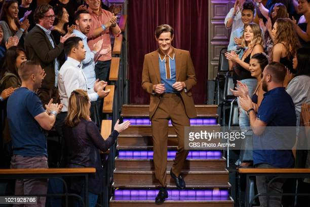 The Late Late Show with James Corden airing Wednesday August 15 with guests Vanessa Hudgens and Matt Smith