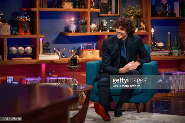 The Late Late Show with James Corden airing Wednesday, February 10 with guests Noah Centineo and Madison Cunningham.