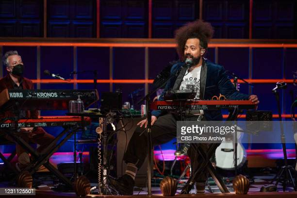 The Late Late Show with James Corden airing Wednesday, February 10 with guests Noah Centineo and Madison Cunningham. Pictured with: Steve Scalfati,...