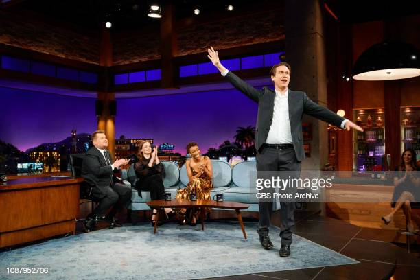 The Late Late Show with James Corden airing Wednesday January 23 with guests Rebecca Ferguson Sonequa Martin Green Pete Holmes and musical guest Ava...