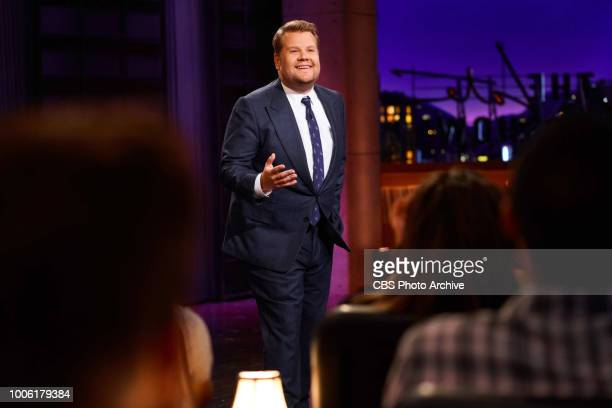 The Late Late Show with James Corden airing Wednesday July 25 with guests Simon Pegg and David Spade Pictured James Corden