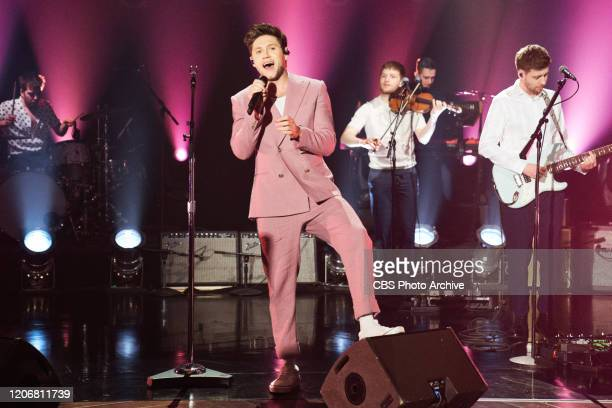 The Late Late Show with James Corden airing Wednesday March 11 with guests Emily Blunt Sam Heughan and music from Niall Horan