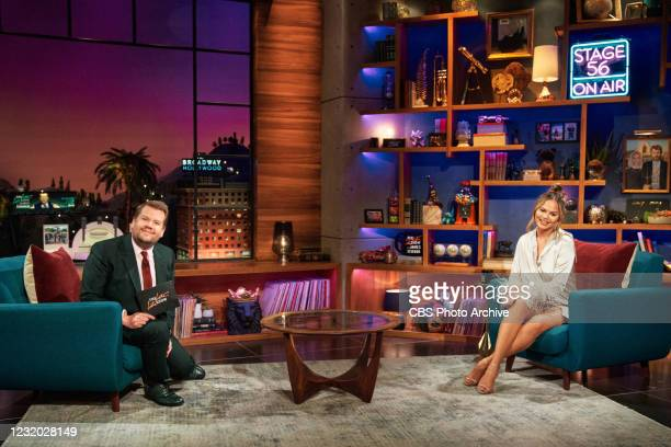 The Late Late Show with James Corden airing Wednesday, March 24 with guest Chrissy Teigen.