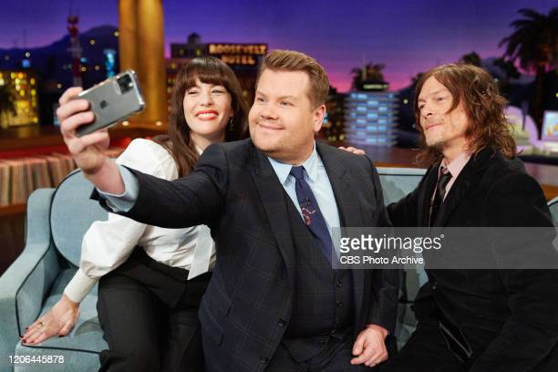 The Late Late Show with James Corden airing Wednesday March 4 with guests Liv Tyler Norman Reedus and music from blackbear