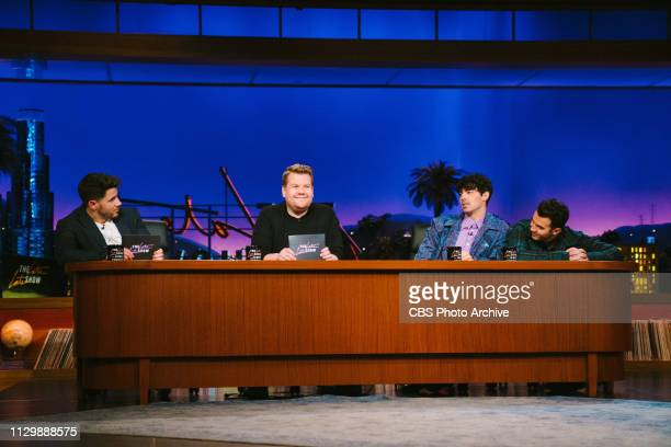 The Late Late Show with James Corden airing Wednesday March 6 with guests Allison Janney Samuel L Jackson and Jonas Brothers