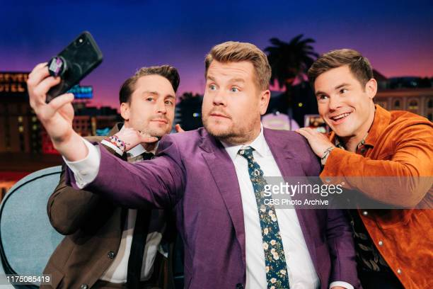 The Late Late Show with James Corden airing Wednesday October 9 with guests Adam DeVine Kieran Culkin and standup comic Ismo
