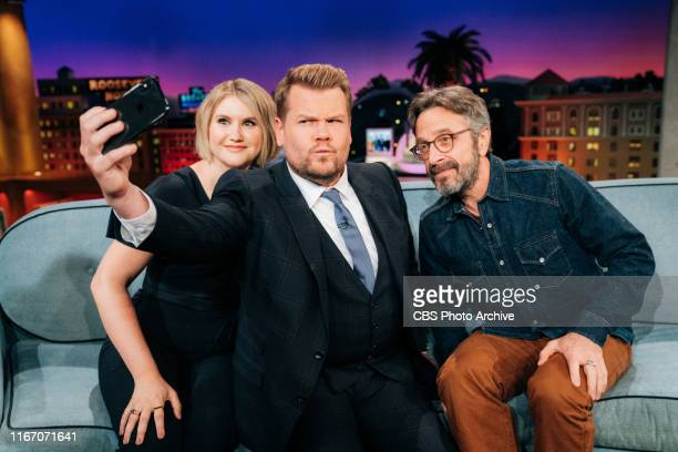 The Late Late Show with James Corden airing Wednesday September 4 with guests Jillian Bell and Marc Maron