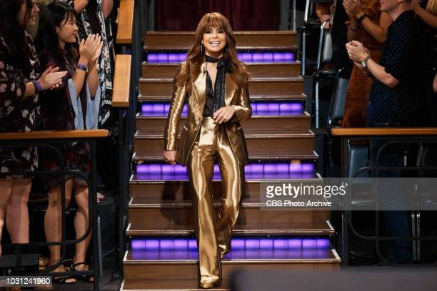 The Late Late Show with James Corden airing Wednesday September 5 with guests Paula Abdul and Rob Corddry