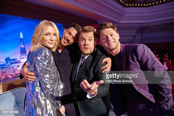 The Late Late Show with James Corden in London airing Monday June 18 with guests Cate Blanchett Orlando Bloom and Niall Horan