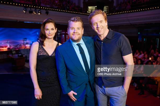 The Late Late Show with James Corden in London airing Wednesday June 20 with guests Ruth Wilson and Damian Lewis