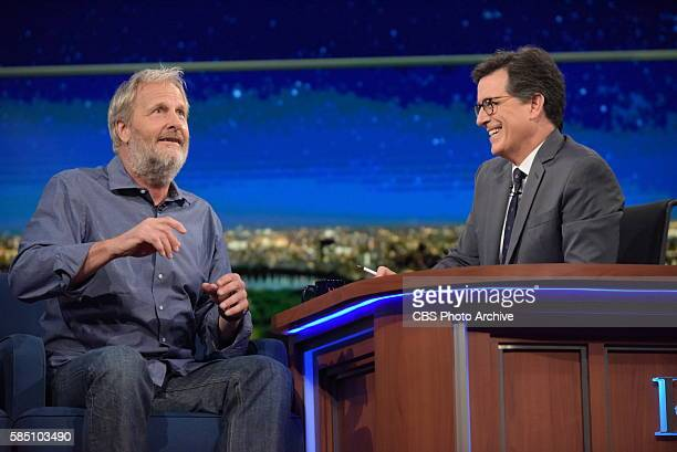 The Late Show with Stephen Colbert airing live Tuesday July 26 2016 in New York With guests Jeff Daniels