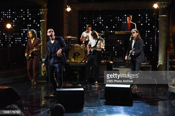 The Late Show with Stephen Colbert and Arctic Monkeys during Monday's July 23 2018 show
