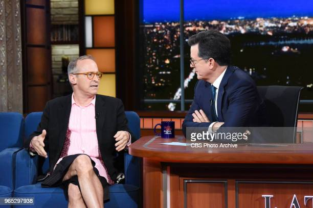 The Late Show with Stephen Colbert and David Sedaris during Thursday's May 24 2018 show