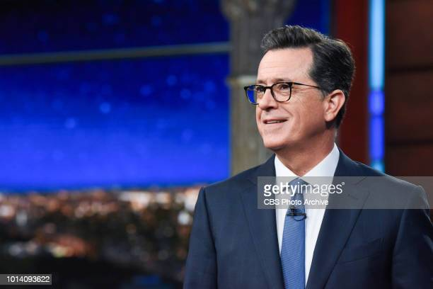 The Late Show with Stephen Colbert and during Tuesday's August 7 2018 show