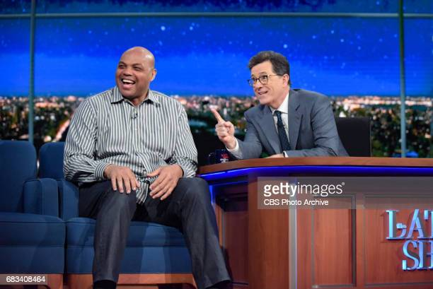 The Late Show with Stephen Colbert and guest Charles Barkley Debra Winger during Thursday's May 4 2017 show