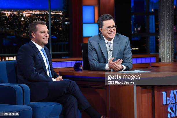 The Late Show with Stephen Colbert and guest Chris O'Donnell during Friday's May 4 2018 show