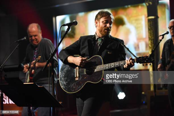 The Late Show with Stephen Colbert and Guest Dan Auerbach during Friday's May 12 2017 show in New York