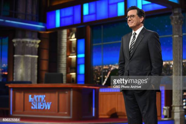 The Late Show with Stephen Colbert and guest Daniel Craig Tiffany Haddish Blackberry Smoke during Tuesday's August 15 2017 show