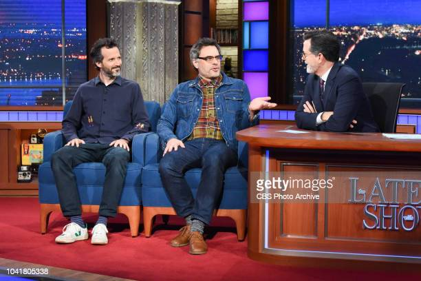 The Late Show with Stephen Colbert and guest Flight of the Conchords during Monday's September 24 2018 show