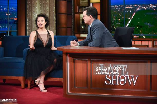 The Late Show with Stephen Colbert and guest Ilana Glazer during Wednesday's June 14 2017 show