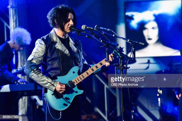 The Late Show with Stephen Colbert and guest Jack White during Friday's May 4 2018 show