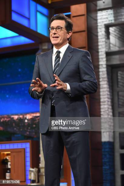 The Late Show with Stephen Colbert and guest James McAvoy Kenneth Branagh during Wednesday's July 19 2017 show