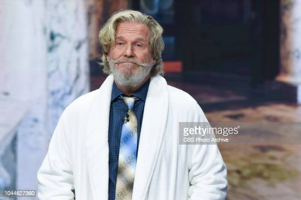 The Late Show with Stephen Colbert and guest Jeff Bridges during Friday's September 28 2018 show