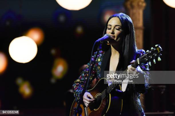 The Late Show with Stephen Colbert and guest Kacey Musgraves during Thursday's March 29 2018 show