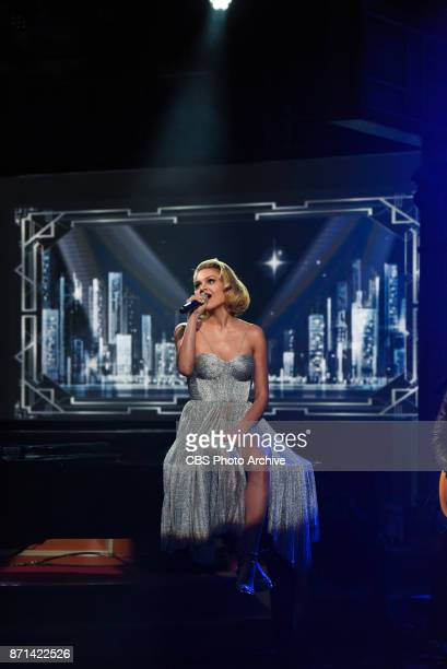 The Late Show with Stephen Colbert and guest Kelsea Ballerini during Friday's November 3 2017 show in New York