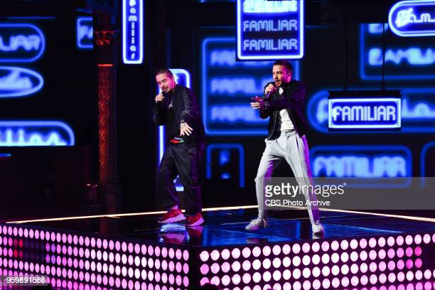 The Late Show with Stephen Colbert and guest Liam Payne featuring J Balvin during Thursday's May 17 2018 show