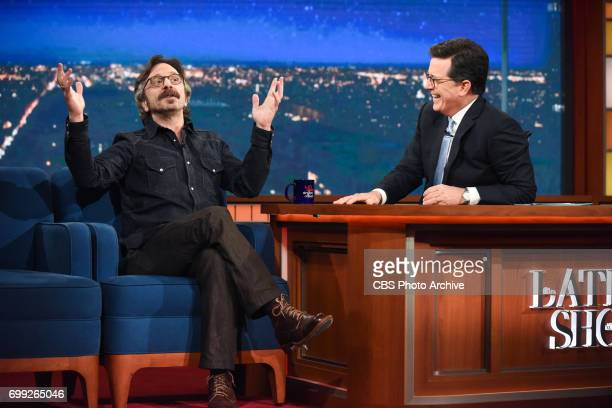 The Late Show with Stephen Colbert and guest Marc Maron during Tuesday's June 20 2017 show