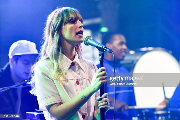 The Late Show with Stephen Colbert and guest Portugal The Man during Tuesday's February 20 2018 show