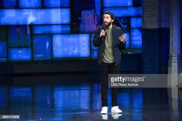The Late Show with Stephen Colbert and guest Ramy Youssef during Thursday's May 11 2017 show