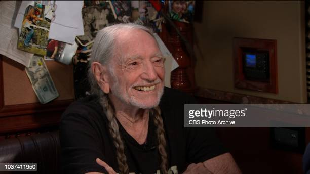 The Late Show with Stephen Colbert and guest Willie Nelson during Monday's September 19, 2018 show.