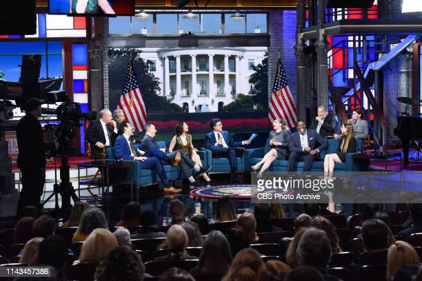 The Late Show with Stephen Colbert and guests Julia Louis-Dreyfus, Anna Chlumsky, Tony Hale, Reid Scott, Timothy Simons, Matt Walsh, Kevin Dunn, Gary...